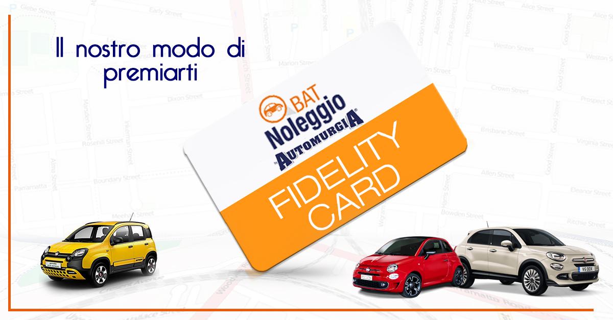 BatNoleggio Fidelity Card