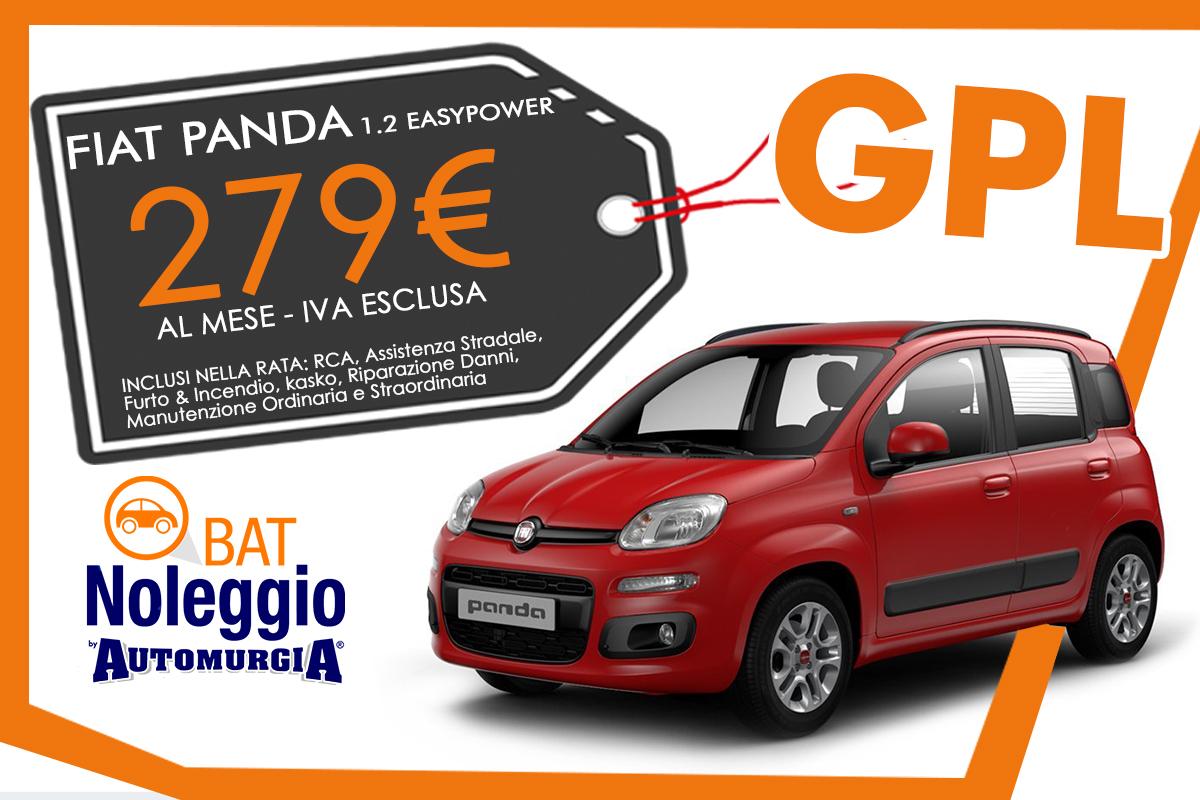 Fiat Panda 1.2 easypower GPL - Noleggio Lungo Termine