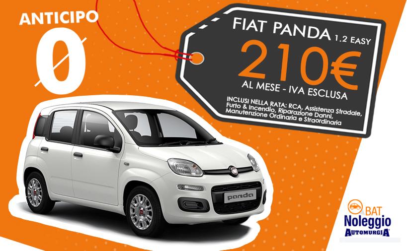 Fiat Panda 1.2 easy - Noleggio Lungo Termine